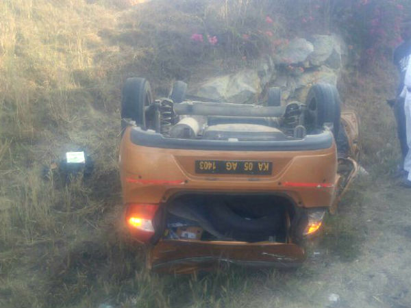 Car over turns in NICE road claims three students life