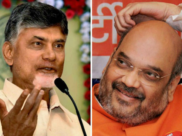 TDPs decision to quit NDA unfortunate, unilateral: Amit Shah to Naidu