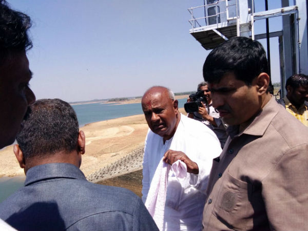 Deve Gowda to meet minister Nitin Gadkari to discuss cauvery issue