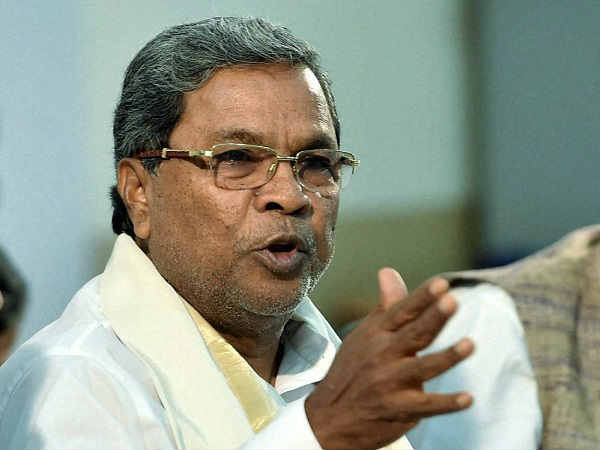 Siddaramaih Blames Partiality In Distributing Subsidies By Central Government