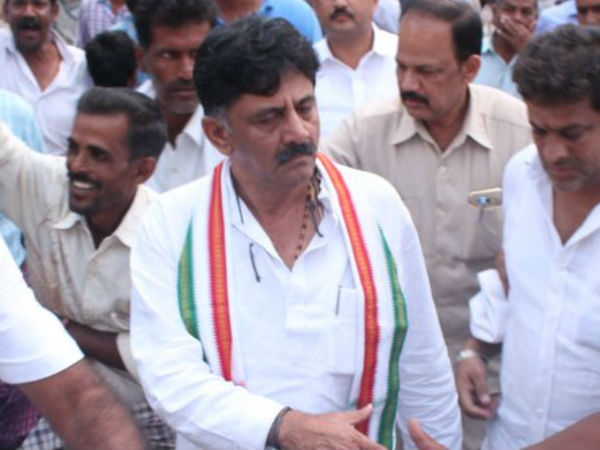 court ordered to investigate against violence of DK Shivakumar followers