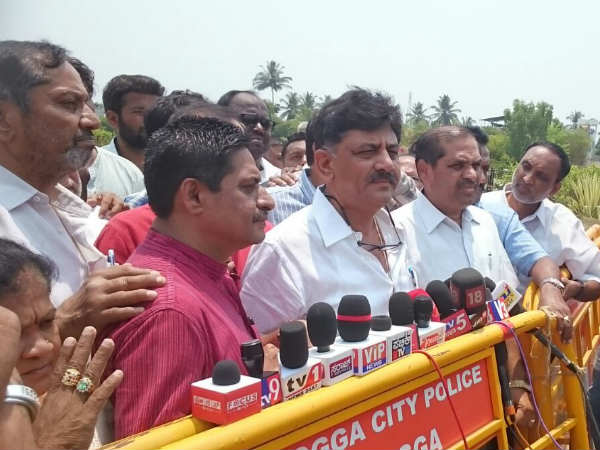 What Dk Shivakumar Says About Jds Congress Coalition