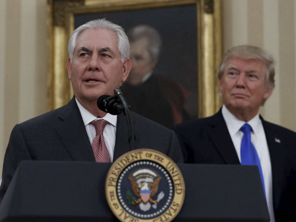 Donald Trump Fires Rex Tillerson As Secretary Of State