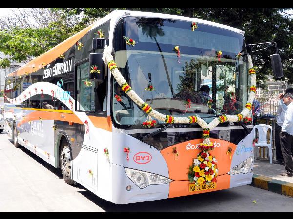 Electric buses in Bengaluru on six months