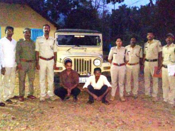 Miscreants arrested who set fire in forest