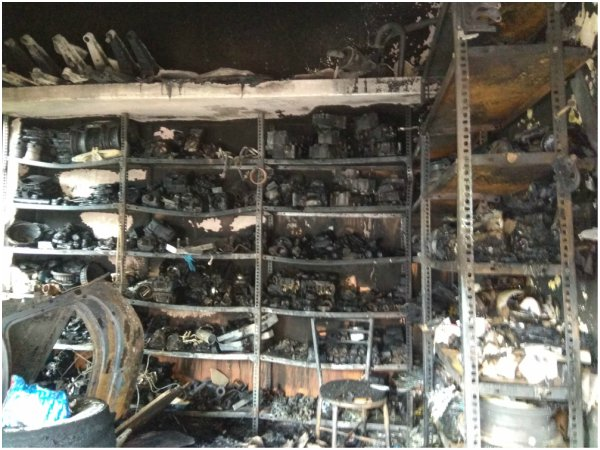 Ramanagar: Store With Items Worth 12 Lakhs Burn for Short Circuit