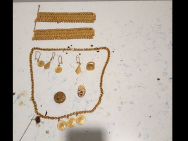 One and half K.G. gold seized in Bengaluru Kempegowda international airport