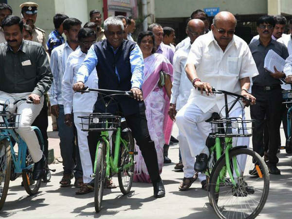 Bmtc Launches Bike Service For Commuters