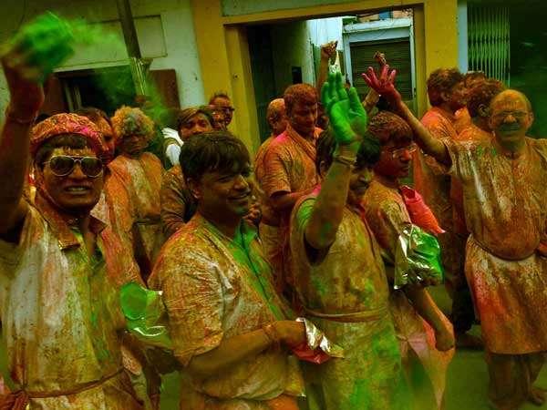 Holi Festival Of Colors And Spirituality