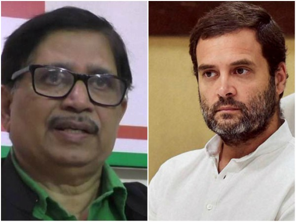 Goa Congress President Shantaram Naik Submits His Resignation To Party President Rahul Gandhi