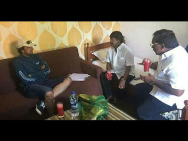 Nelamangala JDS MLA meets Sudeep and asks to come for campaign