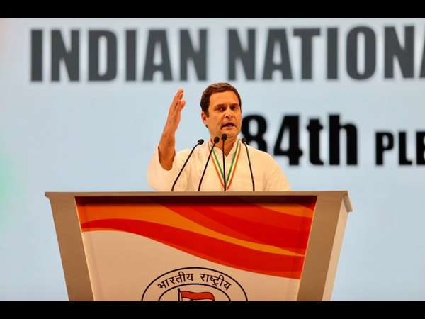 Congress can show the way ahead to Country: Rahul Gandhi