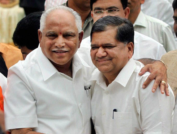 Jagadish Shettar offered 10 crore to expel Yeddyurappa from KJP