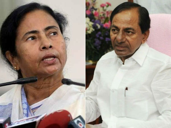 Telanganas CM KCR to Meet Mamata Banerjee to discuss new third front
