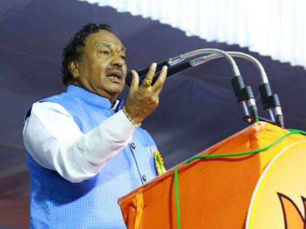 Bjp Leader Eshwarappa And Mp Shobha Karandlaje Slams Cm And Home Minister In Udupi