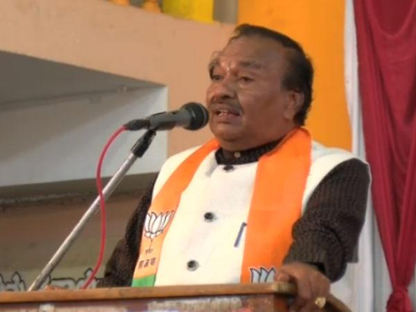 Ks Eshwarappa Mocks At Rahul Gandhi