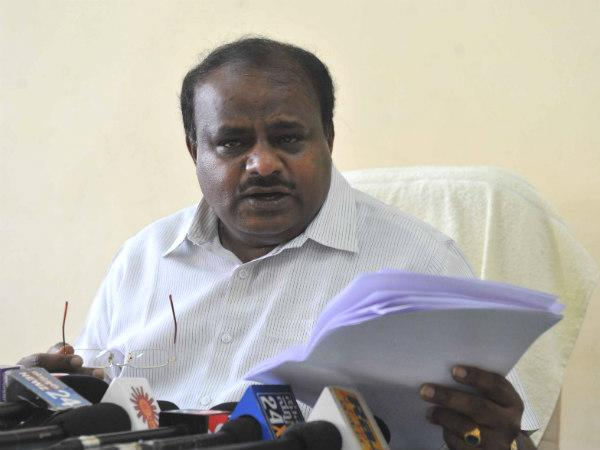 congress trying buy votes from its money power: HDK