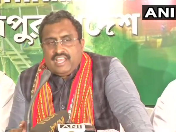 BJP par board to meet for deciding Tripura CM: Madhav