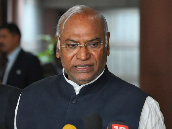Mallikarjun Kharge upset about Ashok kheny congress joining issue
