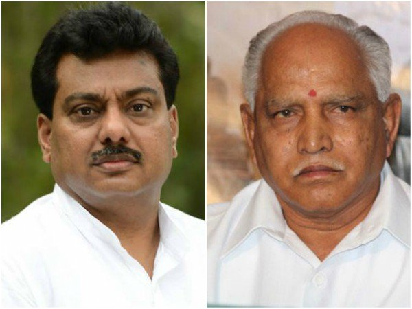 Again Yeddyurappa Alleges 25 Crore Kickback Against Mb Patil