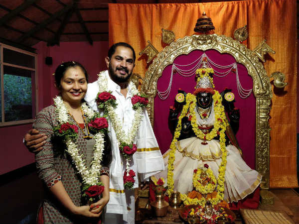 MLA doaughter Lakshmi marries producer Sundar Gowda
