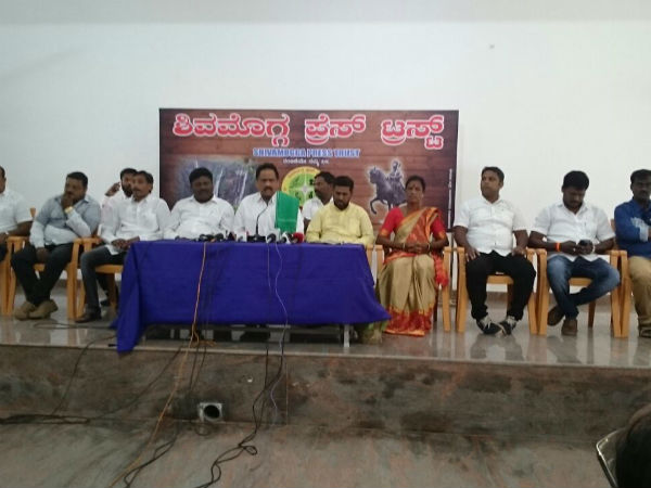 Rebel heat for JDS in Shivamogga assembly constituency
