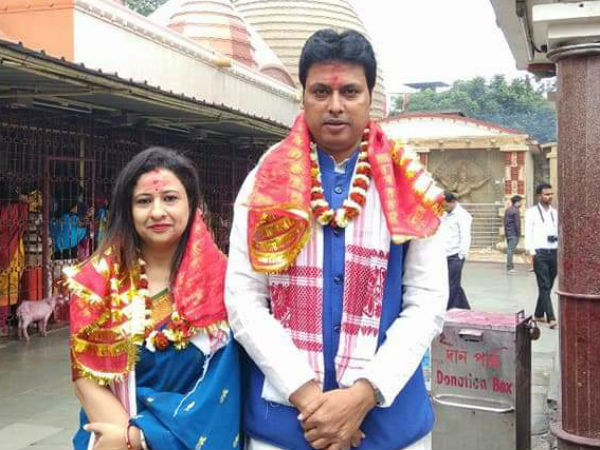 48 year old Biplab Kumar Dev is in the forefront of CM race in Tripura