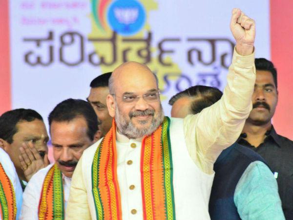 Amit Shah To Visit Lingayat Mutts During His State Visit
