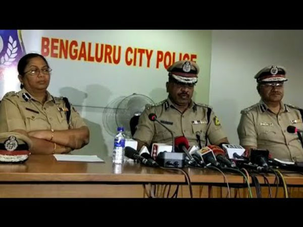 Bengaluru police meeting about controlling election offense