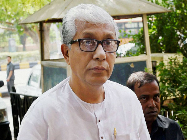 Manik Sarkar To Make Cpi M Office His New Home