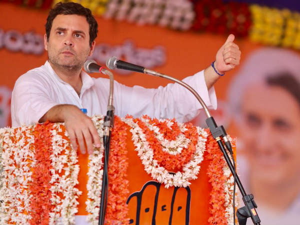 Rahul Gandhi lambasted on JDS in Hassan
