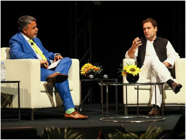Get things done, only if people carry together: Rahul Gandhi