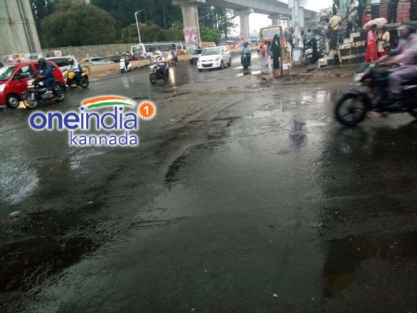Heavy rain lashes out Bengaluru , Coastal and Interior Karnataka