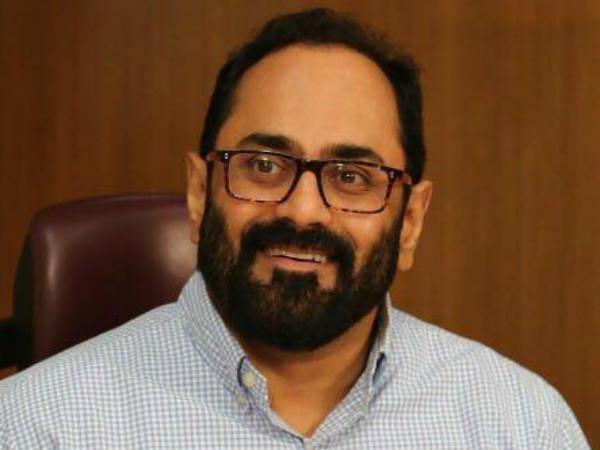 Rajya Sabha Member Rajeev Chandrasekhar Profile