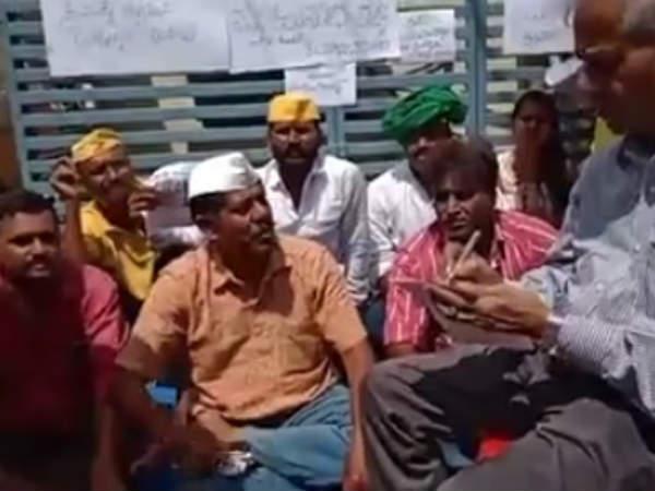 Ravikrishna Reddy Protests Seeking Arrest Of Former Mayor