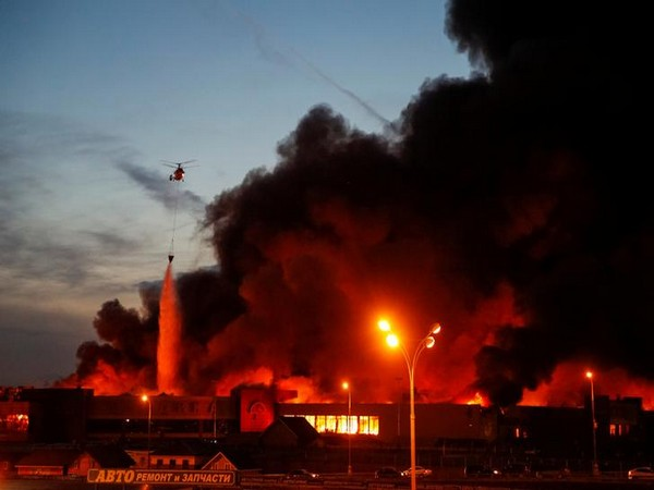 Many Killed In Russian Mall Blaze