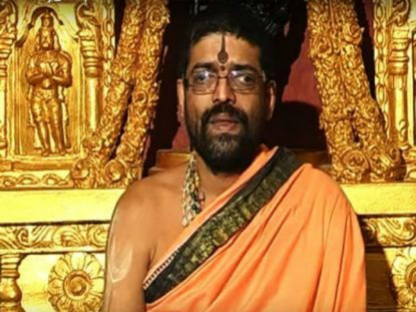 Shirur Seer Should Step Down From Their Responsibility