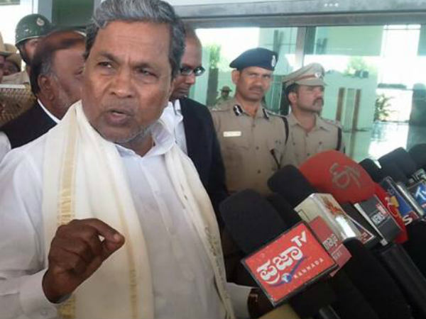 Siddaramaiah fires at Amit Shah and Yogi Adityanath