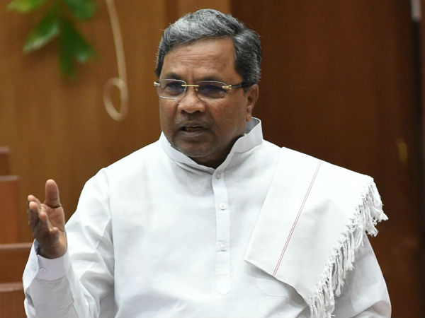 Amit Shah is scared of me: Siddaramaiah