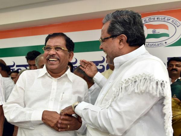 Siddaramaiah Said Parmeshwar Is Like His Brother
