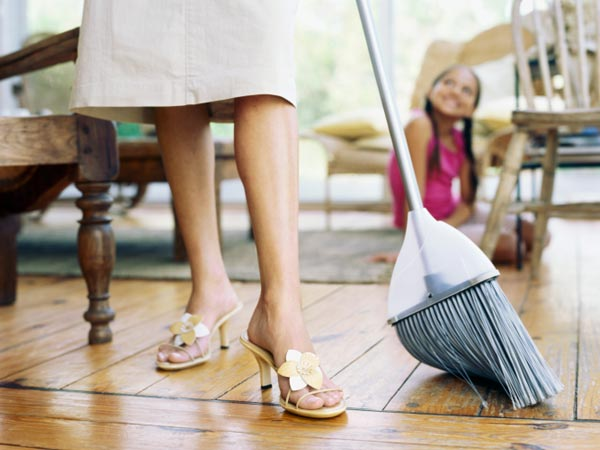 Why only women should work as domestic worker?
