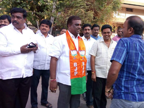 G. Somashekar Reddy ready to prepare Filing nomination