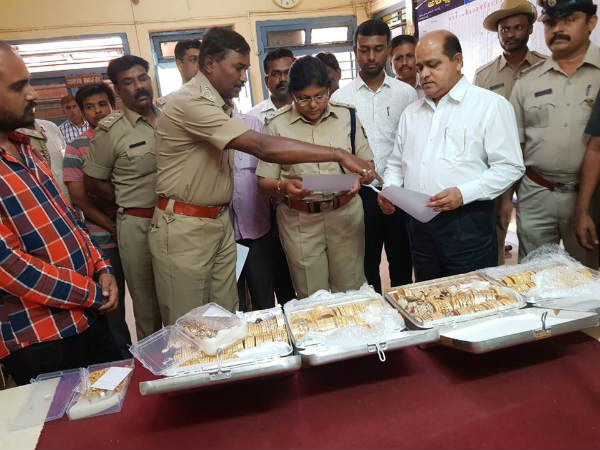 Illegally transported 7 kg gold seized in Dharwad
