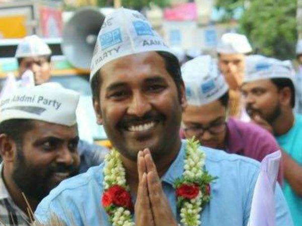 Cv Raman Nagar Aap Candidate Mohan Dasari Profile