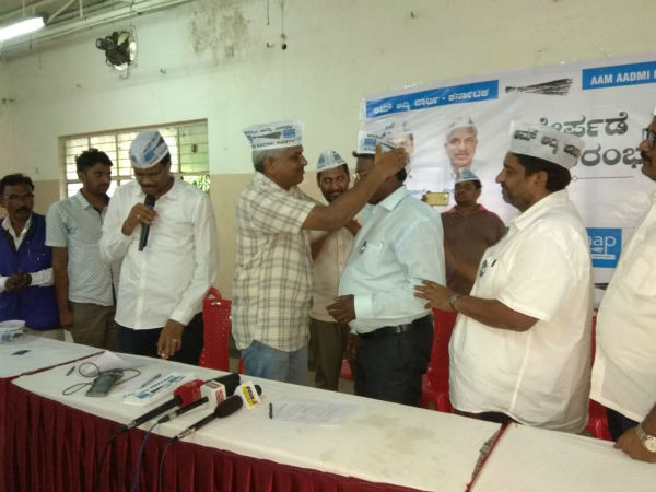 Elections 2018 : Several Dalit Leaders, Activists & environmentalists joined AAP