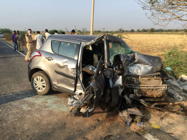 Four of family dead in car accident