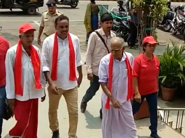 Congress and CPIM candidates filed nomination in Dakshina Kannada