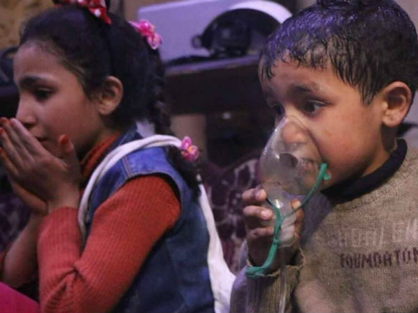 Chemical attack in Syria kills 70