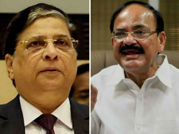 Twitter Reactions Venkaiah Naidus Rejection Of Cji Impeachment