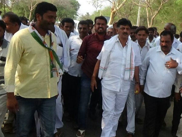 People Will Teach Lesson To Bjp And Jds Said Dk Shivakumar
